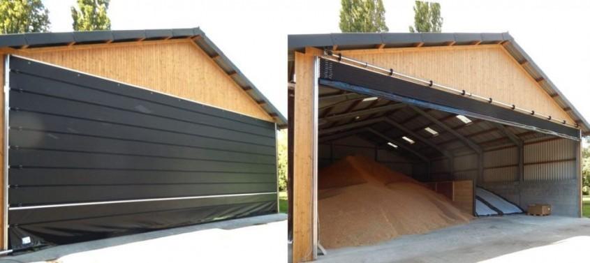 Ușa flexibilă pentru agricultură Huesker Faltfront