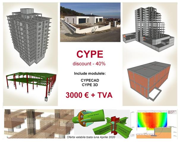 TOP 5 beneficii în utilizarea CYPECAD