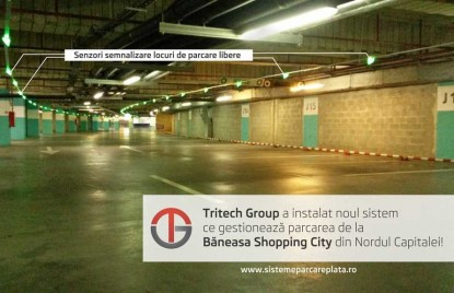 Senzori semnalizare locuri de parcare libere  Bucuresti TRITECH GROUP