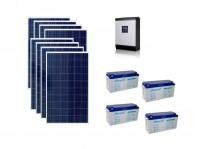 Sistem fotovoltaic Poweracu Off-Grid 2kw