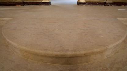 Detaliu pardoseala marmura  Bucuresti BROWNSTONE