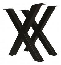 Set doua picioare metalice pentru masa - HORECA X
