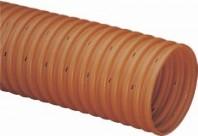 Sistemul de drenaj cu țevi flexibile cu fante din PVC cu perete gofrat