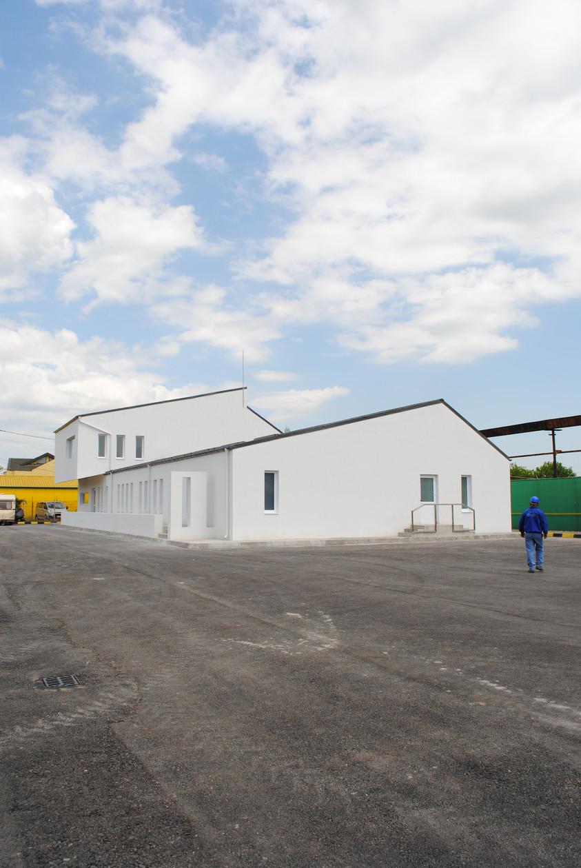 Vestiare pentru angajatii fabricii de pulberi metalice - Buzau 01.17  Buzau AsiCarhitectura