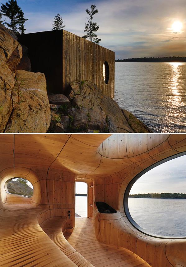 <b>Sauna de pe malul lacului</b>