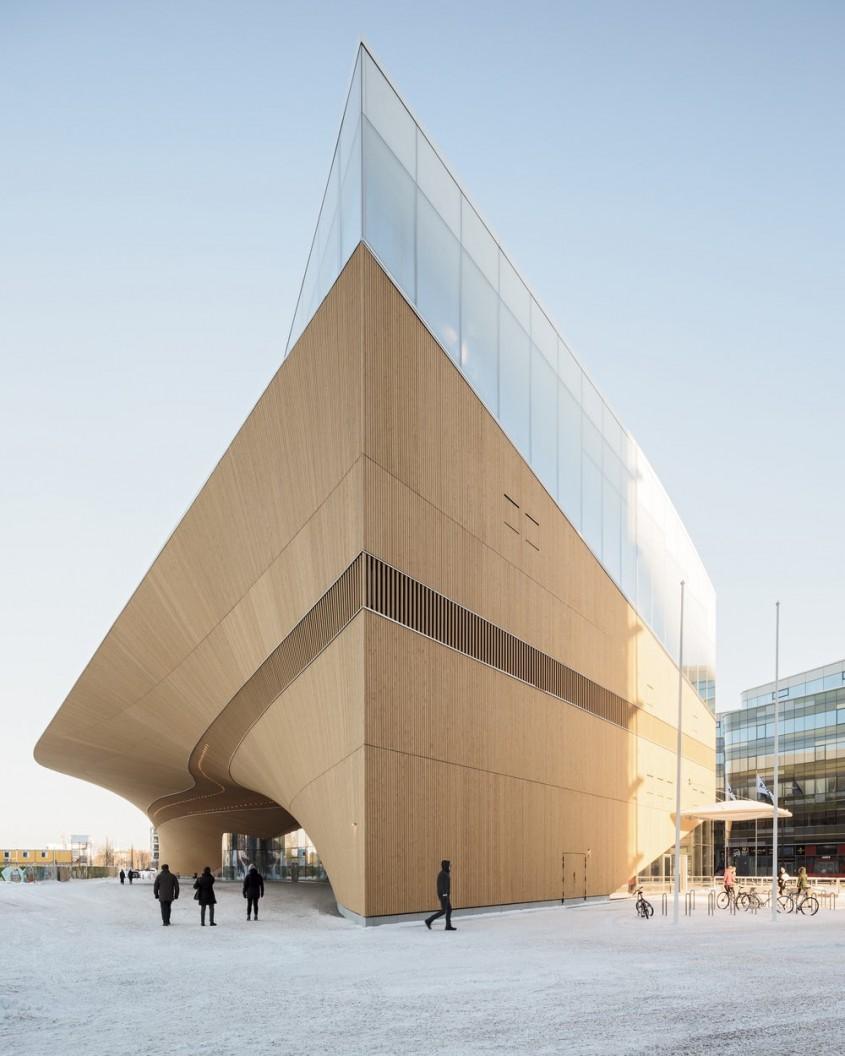 Biblioteca Oodi,  Helsinki (Finlanda) - ALA Architects