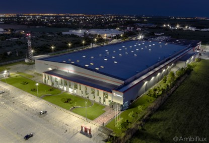 Iluminare hala industriala cu lampi LED - ELECTRONIC INTERACTIV  Bors, Bihor ELECTRONIC INTERACTIV