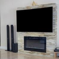 Panel Quartit  Titanium Stripes 15 x 60cm - Lichidare stoc PIATRAONLINE  PND-2501