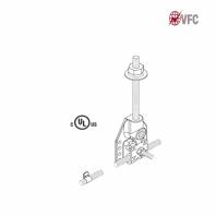 Baze VFC® ascunse pentru fixare captator paratrasnet