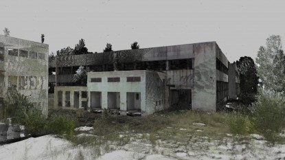 Scanare3  3D hale industriale  Rosiorii de Vede GRAPHEIN Graphein