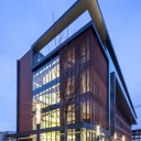 Perete cortină pentru eficiență energetică a clădirii Binarium din Cluj