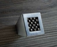 Buton pentru mobila - Mesh Black