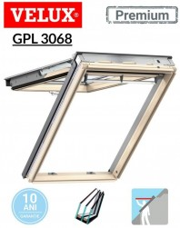 Fereastra de mansarda cu dubla deschidere Velux GPL 3068