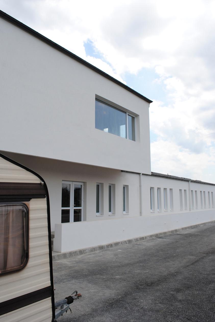 Vestiare pentru angajatii fabricii de pulberi metalice - Buzau 01.27  Buzau AsiCarhitectura