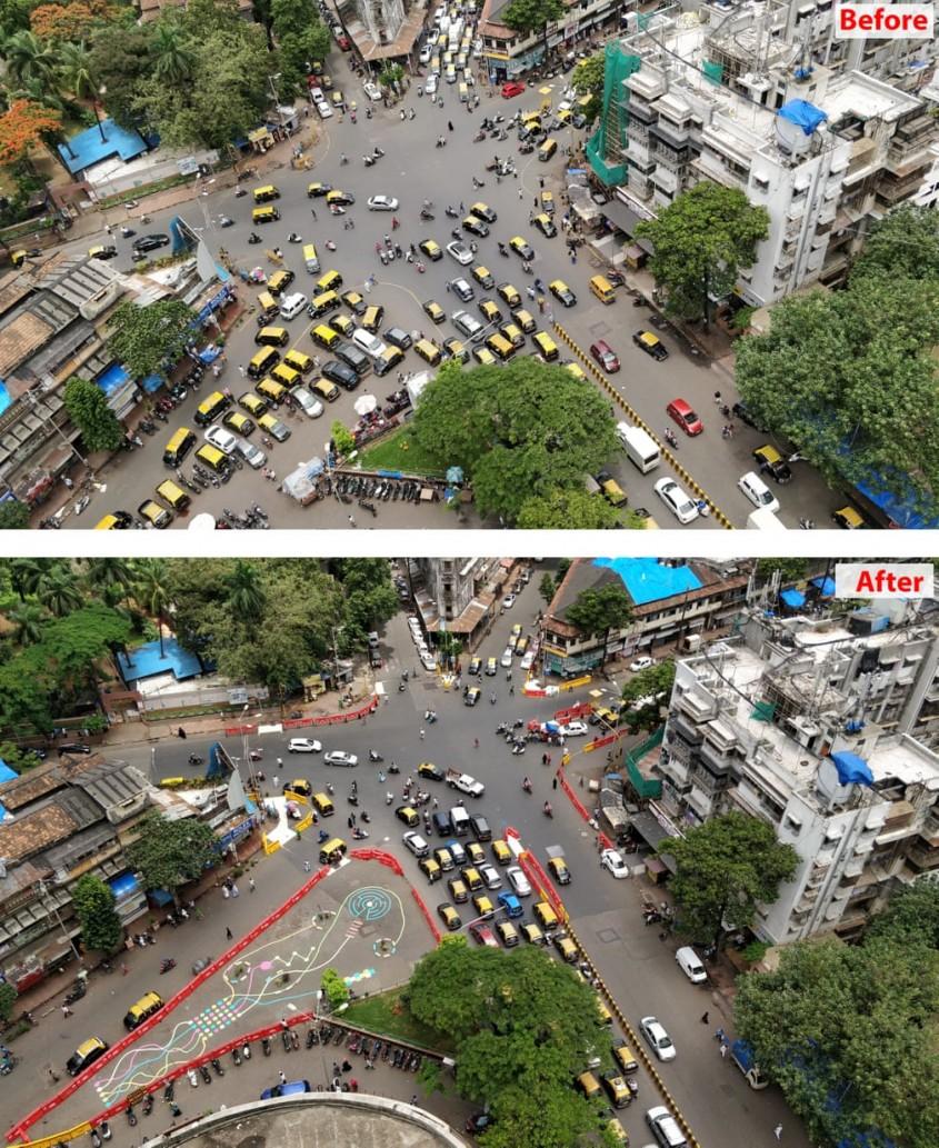 <b>Mumbai, India - Intersectia Nagpada</b>