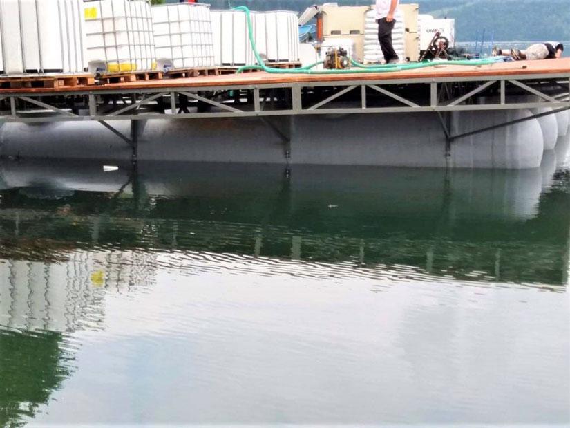 Pontoane plutitoare din P.A.F.S.