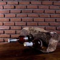 Suport sticle vin - Sandstone Mandras (2 gauri) PIATRAONLINE  AG-3232