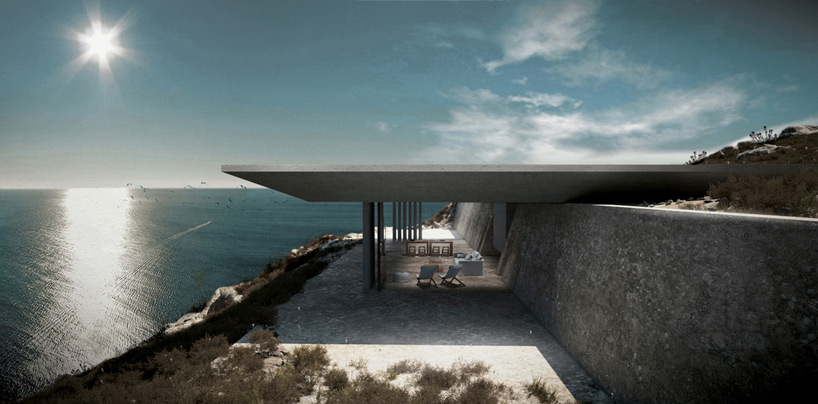 1. Casa miraj, propusa pentru insula Tinos din Grecia