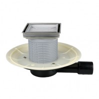 Sifon orizontal pentru balcoane si terase DN40/50 - HL90.2-3020