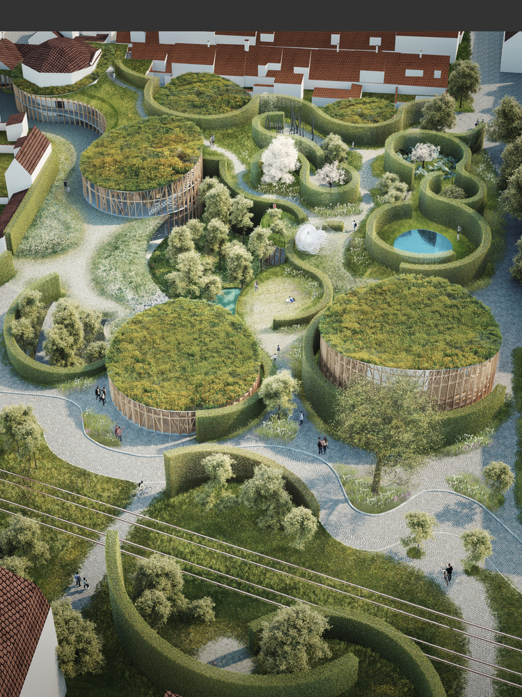 Un muzeu de Kengo Kuma inspirat de lumea magică a poveştilor lui Hans Christian Andersen
