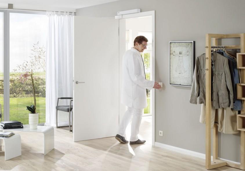 Sisteme de acţionare pentru uşi interioare: pentru o locuinţă confortabilă, fără bariere