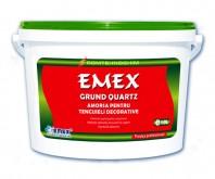 Grund acrilic de amorsare cu cuart pentru tencuieli decorative Emex