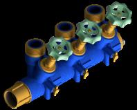 Distribuitor de apa pentru incalzire prin pardoseala - 4001
