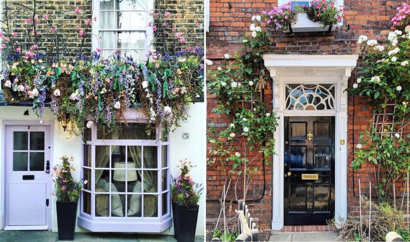 Fascinantele uși ale caselor londoneze