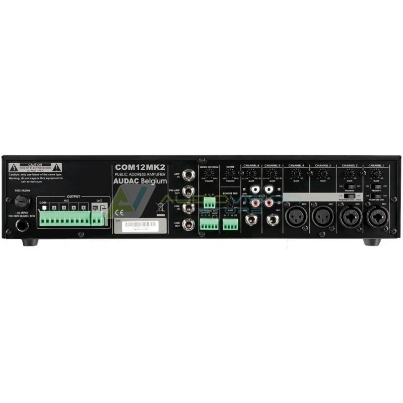 Amplificator audio profesional Audac COM12MK2