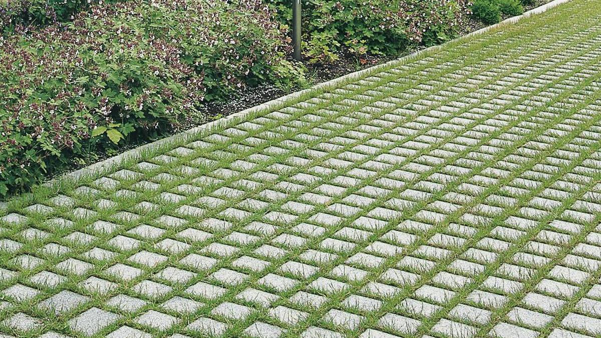 ECOgreen - Pavaj cu suprafata beton aparent