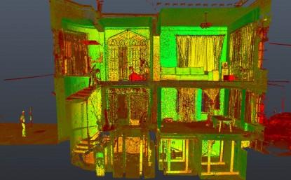 Scanare 3D - Nor de puncte - Casa Breslelor Bucuresti  Bucuresti GRAPHEIN Graphein