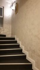 Finisajul pereților hotelului Excelsior din Sinaia cu vopsea decorativă. O lucrare de MURALI ARTWORK