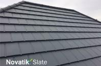Țiglă metalică Novatik METAL | SLATE - acoperișul cu aspect de ardezie