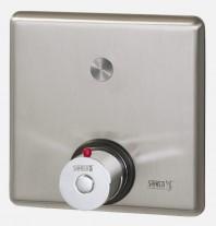 Control pentru dus cu buton piezo si debitmetru - SANELA SLZA 20PKT