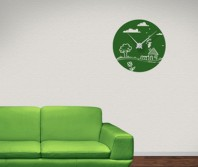 "Sticker tip ceas de perete ""Povesti cu Zane"""
