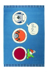 Covor Copii Acril Sigikid Colectia Olaf Laola Ahoi Sk-3344-01