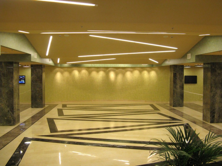 Auditorium-Pallady - interior  Bucuresti SAINT-GOBAIN CONSTRUCTION PRODUCTS ROMANIA - DIVIZIA RIGIPS