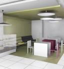 Amenajare magazin de presa si articole culturale intr-un spital - Bucuresti