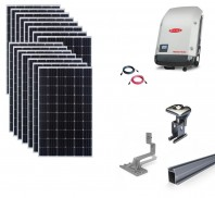 Sistem fotovoltaic on-grid Fronius 5kwp prindere tigla