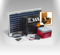 Kit solar Xunzel Off-Grid complet pentru iluminat SOLARLIFE30i
