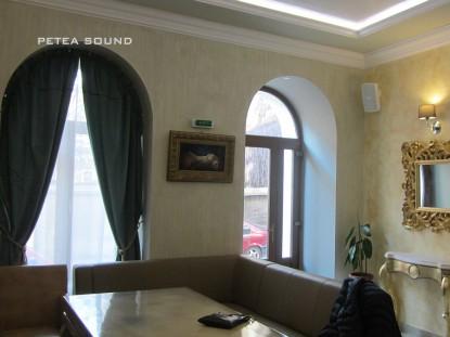 Interior cafenea STRETTO  Braila PETEA Sound