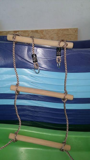 Scara pentru catarat cu 6 trepte din lemn