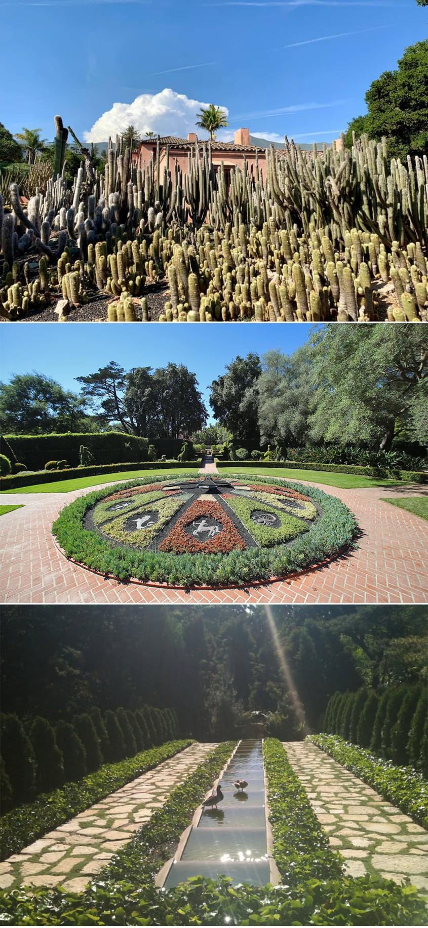 Gradina Botanica Lotusland, California, SUA