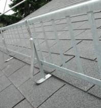 Parazăpadă grilaj colorat 2m - șindrilă bituminoasă