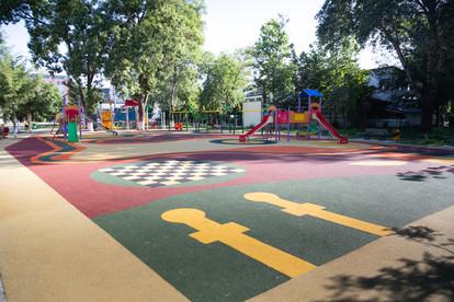 Pardoseala turnata - parc pentru copii  Ialomita, Slobozia INDFLOOR