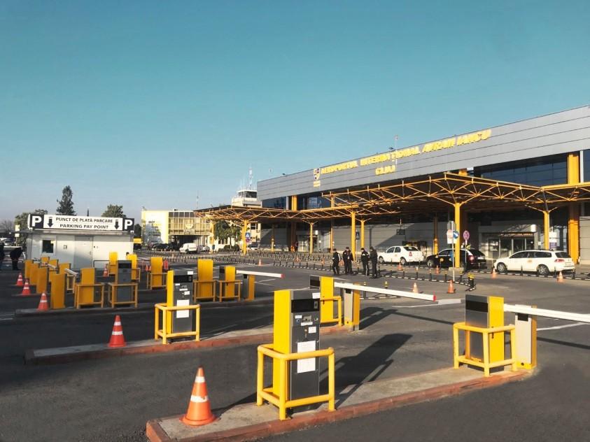 Aeroport Cluj-Napoca - sistem de parcare cu plata marca EQUINSA  Cluj-Napoca TRITECH GROUP