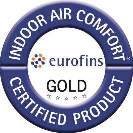 Certificarea internațională EUROFINS GOLD pentru calitatea aerului în interior oferită produselor Knauf Insulation