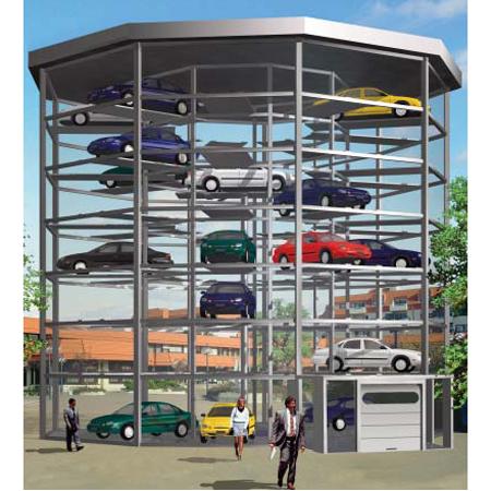Sistem de parcare automat Parksafe 585