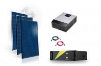 Sistem fotovoltaic Hibrid 10kw cu baterie TS