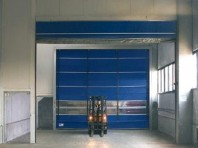 Poarta industriala cu deschidere rapida - SIATEC TRAFFIC